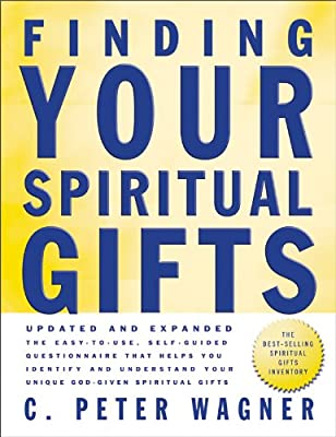 graphic about Printable Spiritual Gift Inventory called Acquiring Your Religious Items Questionnaire: C. Peter Wagner