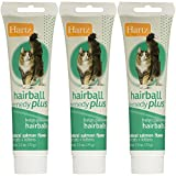 Hartz Hairball Remedy Plus for Cats and Kittens, Salmon Flavor, 2.5 Oz (Pack of 3)