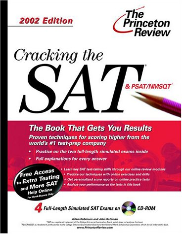 Cracking the SAT with CD-ROM, 2002 Edition (Princeton Review)