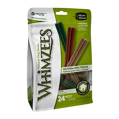 Paragon Whimzees Stix Dental Treat for Small Dogs, 27 Per Bag by Paragon