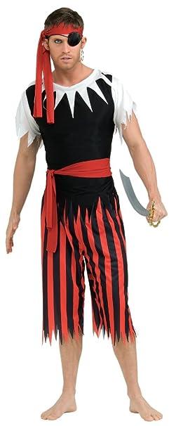 Amazon.com: Rubie s disfraz PIRATA completo disfraz de ...