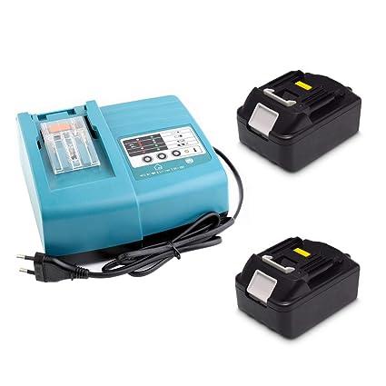 Cargador de repuesto con 2 baterías de 18 V 3,0 Ah para ...