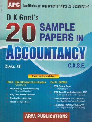 Dk Goel Accountancy Class 11 Solutions Pdf 2017