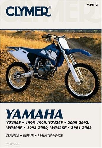 Clymer publishing the best amazon price in savemoney yamaha yz400f yz426f wr400f 1998 2000 service repair maintenance fandeluxe Choice Image