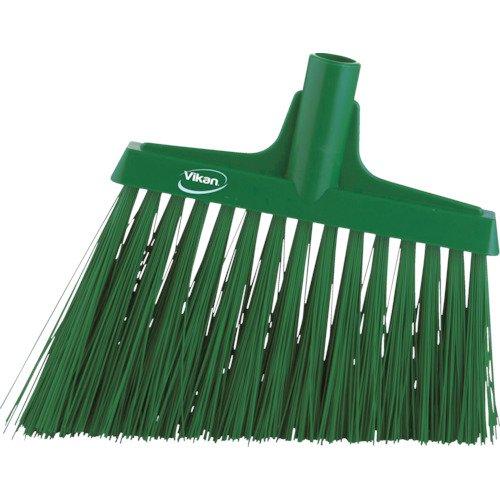 VIKAN Green 11-3/8″ PET Angle Broom