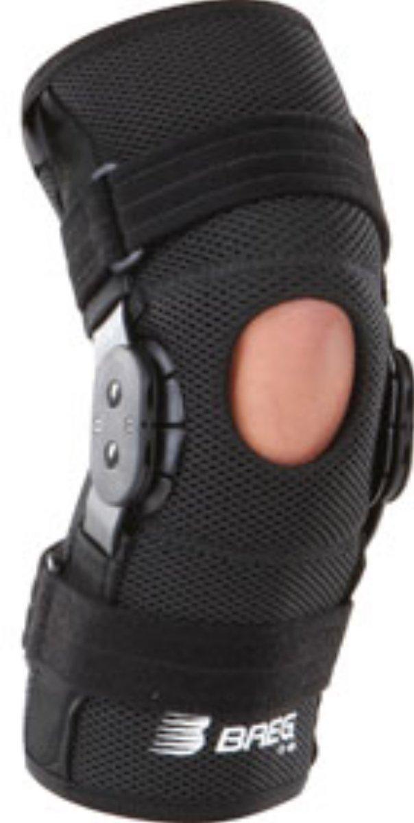 ShortRunner ROM Hinged Knee Brace, Airmesh Open Back Medium