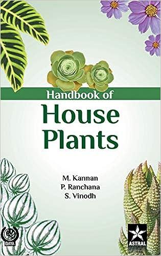 Handbook Of House Plants por M Et Al Kannan