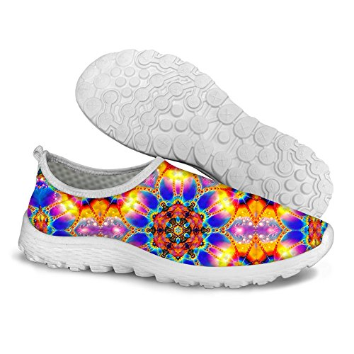 FOR U DESIGNS Fashion Lightweight Slip On Water Athletic Walking Running Shoes Size 7.5