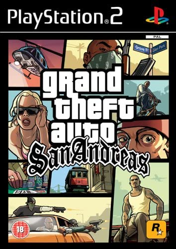 Grand Theft Auto: San Andreas (PS2): Grand Theft Auto - San Andreas:  Amazon.co.uk: PC & Video Games