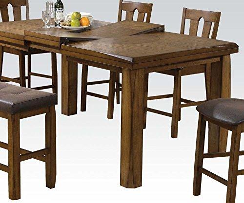 (ACME 00845 Morrison Counter Height Table, Oak)