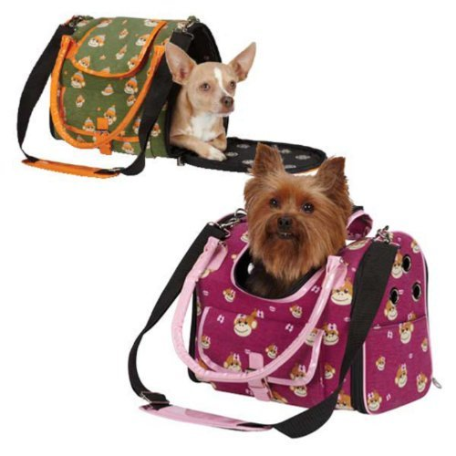 East Side Collection ZA2203 14 15 Monkey Business Carrier Small, Ty by East Side Collection (Carrier Side Pet Collection East)