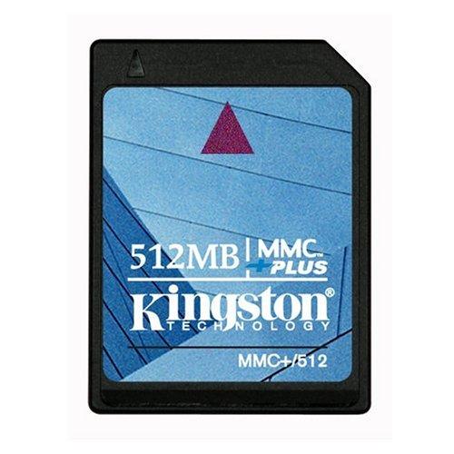 Kingston Flash Memory Card - 512 MB - MMCplus (MMC+/512) (512 Mb Mmc Multimedia)