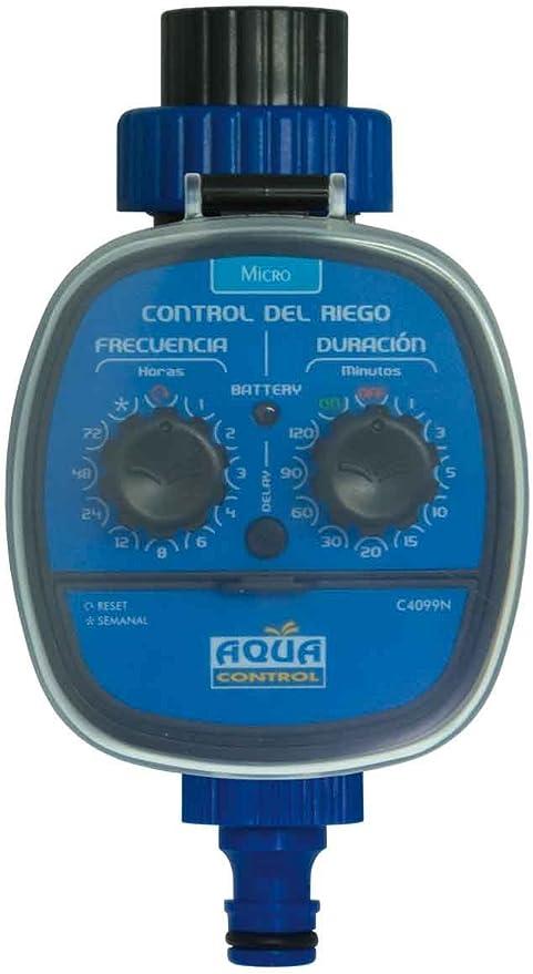 Aqua Control C4099N Programador de Riego para Jardín, Para todo ...