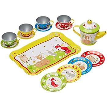 Amazon.com: Cesta juego de té de Alex Toys : Toys & Games