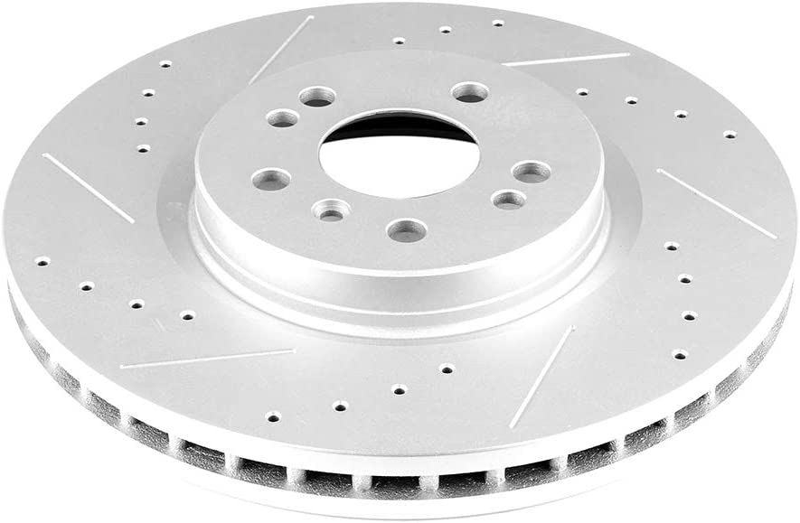 Rear Disc Brake Rotor 2PCS For 2006-2007 Mercedes-Benz ML350
