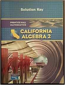 california algebra 2 solution key manual rinehart and. Black Bedroom Furniture Sets. Home Design Ideas