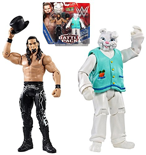 Adam Rose and Bunny WWE Wrestling Action Figure Set 6