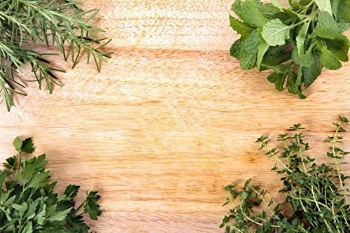 Four Corners of Green Plants and Natural Color Wooden Boards Wedding Baby Photography Background Custom Photography Studio Photography Background