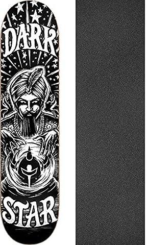 Darkstar Skateboards Fortune Black / White Skateboard Deck - 8.25