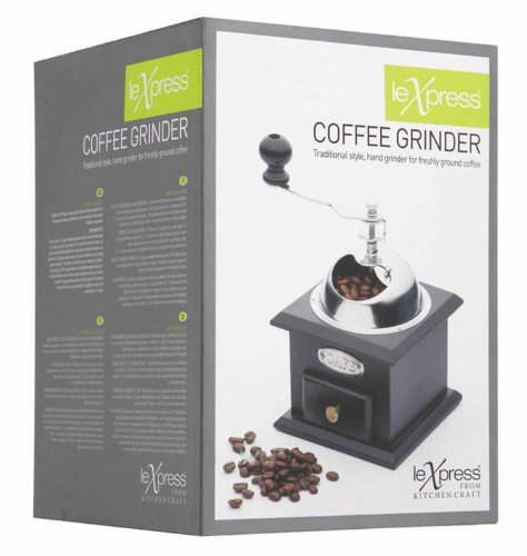 Le Xpress Deluxe Traditional Style Hand Coffee Grinder