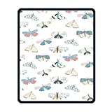 Mouse Pad Butterflys Fashion Non-Slip Mousepad Gaming Mouse Pad
