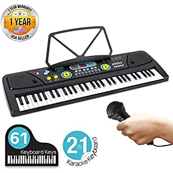 digital piano kids keyboard portable 61 key piano keyboard learning keyboard for. Black Bedroom Furniture Sets. Home Design Ideas
