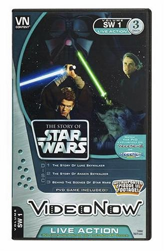 Hasbro Videonow Personal Video Disc 3-Pack: The Story of Star Wars by Hasbro (Image #1)