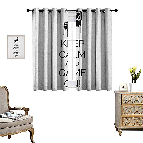 Warm Family Keep Calm Room Darkening Wide Curtains for sale  Delivered anywhere in Canada