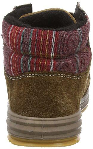 Ricosta Beyon - zapatillas deportivas altas de piel niños marrón - Braun (hazel 266)
