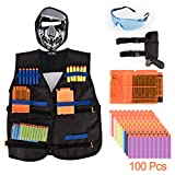 Tactical Vest Kit for Nerf Guns N-Strike Elite Series+ Tactical Waist Bag-by E-Starlet