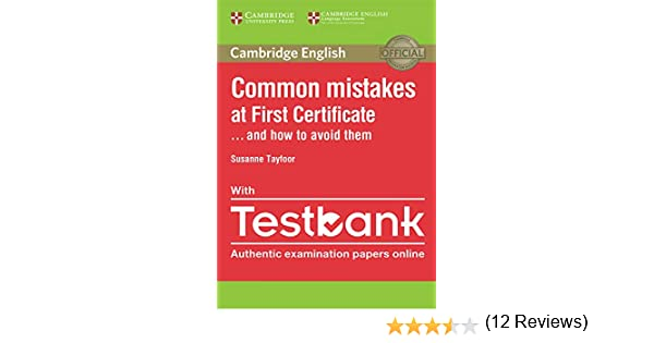 Common Mistakes at First Certificate... and How to Avoid Them ...