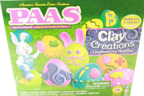 Paas Egg Decorating Kit Clay Creations Easter Fun For The KI