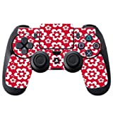 Fun Flowers Pattern Bold PS4 DualShock4 Controller Vinyl Decal Sticker Skin by Debbie's Designs