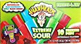 "WARHEADS ""EXTREME SOUR"" 10 POPS PER PACK (PACK OF 3)"