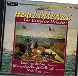 Henri DUPARC The Complete Melodies