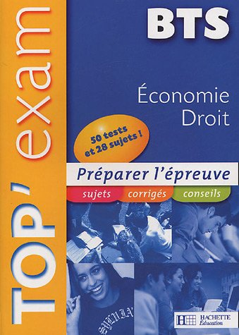 TopExam Economie Droit BTS (French) Paperback