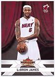 Lebron James 2010 2011 Panini Threads Basketball