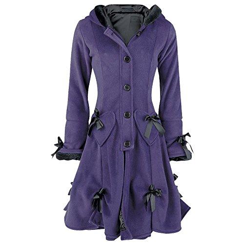 Poizen Pour Industries Punk Nouveau Style Alice Gothique Mode Femme Violet StxBwdcqU1