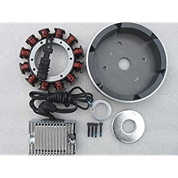 54 AMP HIGH OUPUT CHARGING SYSTEM FOR HARLEY DAVIDSON TOURING MODELS 2010-2016 Fits Touring Models 2011 to 2016 CVO Touring Models 2010 to 2016 and Trike models 2009 to 2016