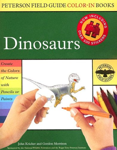 Peterson Field Guide Color-In Books: Dinosaurs
