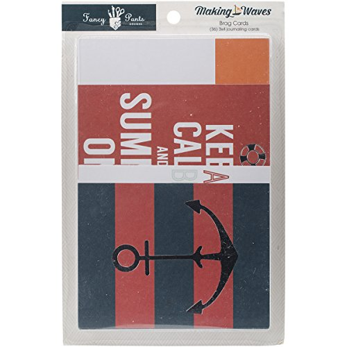 - Fancy Pants Designs 2532 Making Waves Brag Cards for Scrapbooking