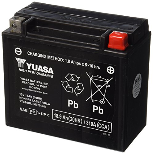 Yuasa Lead Acid Batteries - Yuasa YUAM720BH Lead_Acid_Battery