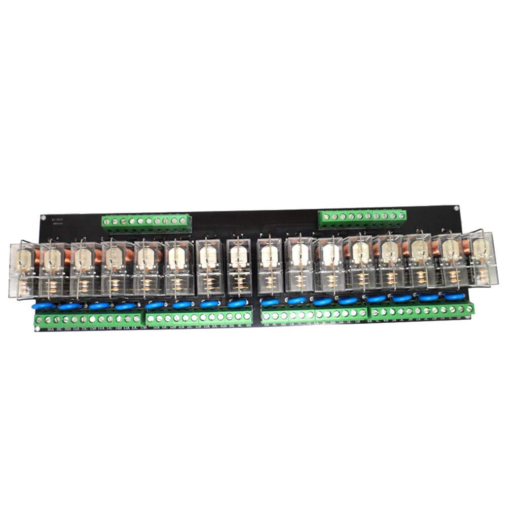 Gazechimp 16-CH Relay Driver Module Shield Controller Board Low Level Trigger DC 12V - PNP-12V by Gazechimp