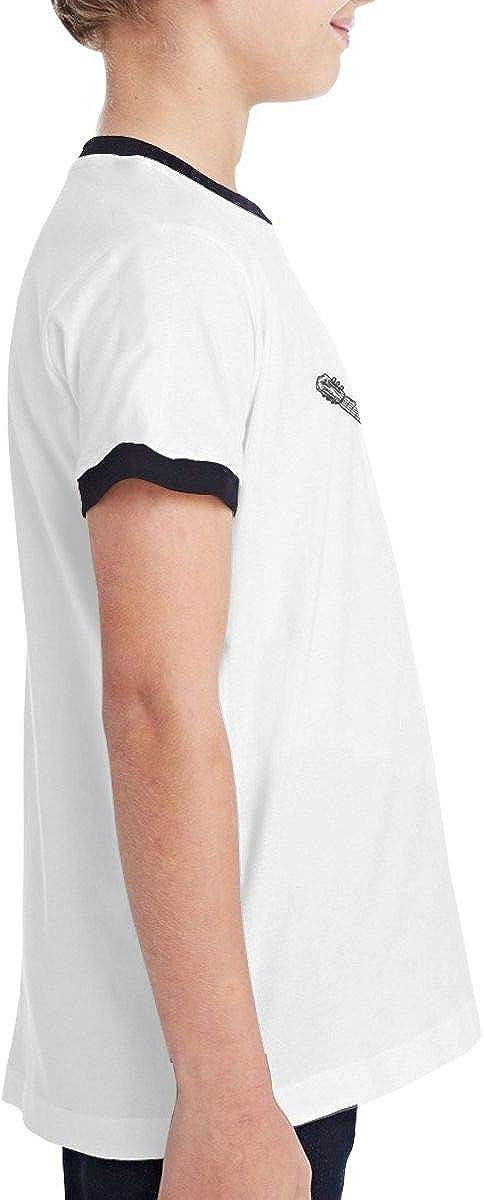 Cotton,Size:S-XL Robert S Villa George Strait Comfortable Teen BoyTeen Contrast T-Shirt