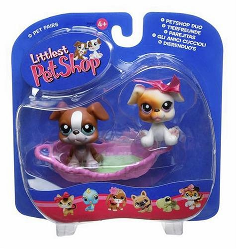 Littlest Pet Shop Boxer (Littlest Pet Shop Pet Pairs Figures 2 Boxers with)