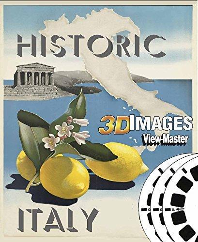 ViewMaster Set HISTORIC ITALY 3 Reels