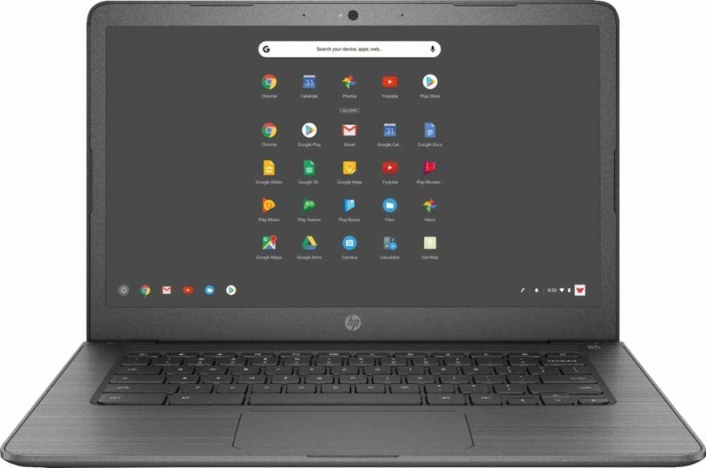 2019 Newest HP 14in Lightweight Business Chromebook-Intel Celeron Dual-Core Up to 2.4 GHz Processor, 4GB LPDDR4 RAM, 32GB SSD, Intel HD Graphics, WiFi, Chrome OS (Renewed)