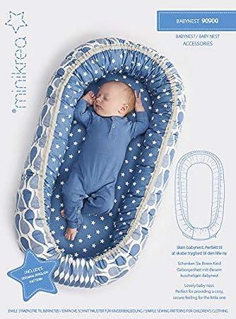 MAGAM-Stoffe \'\'Baby-Nest\'\' Schnittmuster für EIN Baby-Nest ...