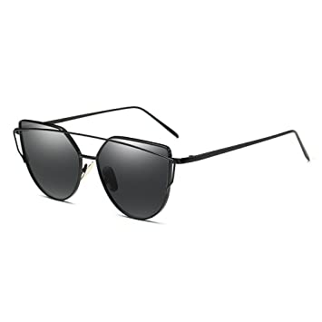 Sonnenbrille Männer Polarisierte Sonnenbrillen Anti-UV Unisex Metallrahmen ( farbe : Gray ) TM8zC