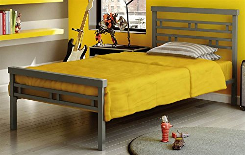 - Amisco Sentinel Metal Bed, Twin Size 39